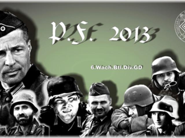 PF 2013 sekce Německá historická jednotka