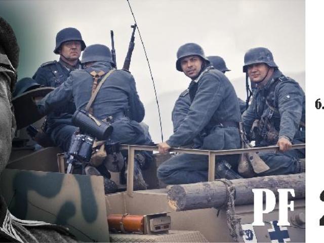 PF 2016 sekce Německá historická jednotka
